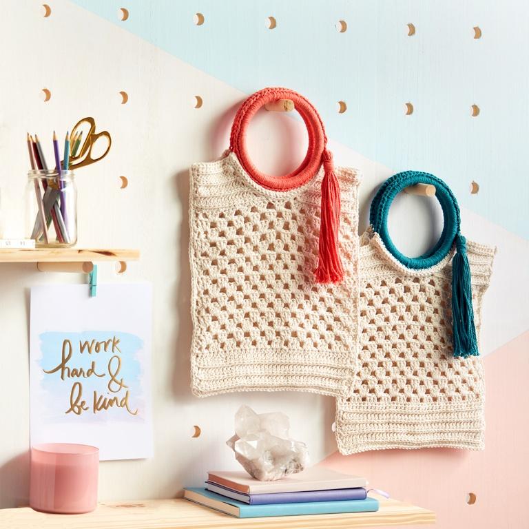 Easy Crochet Beach Party Bag