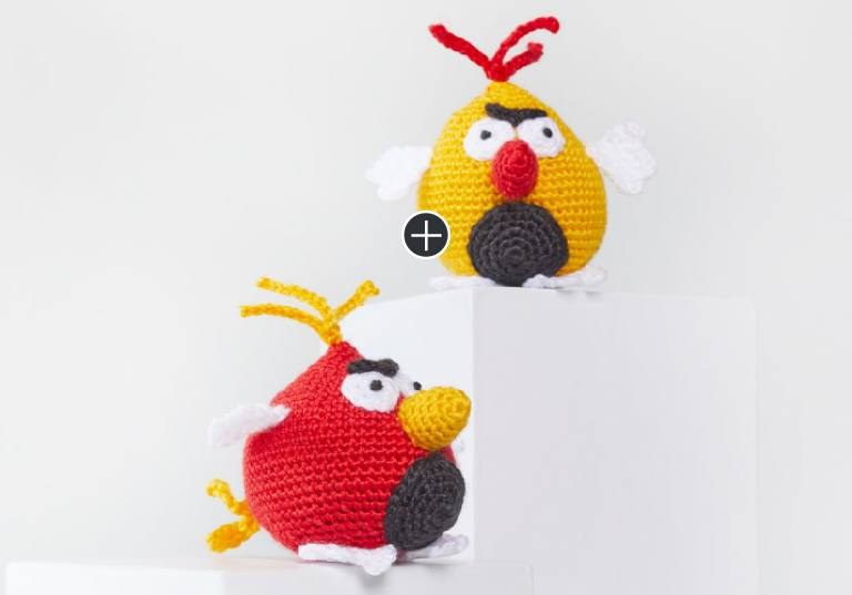 Easy Benedict and Bertie Crochet Bird