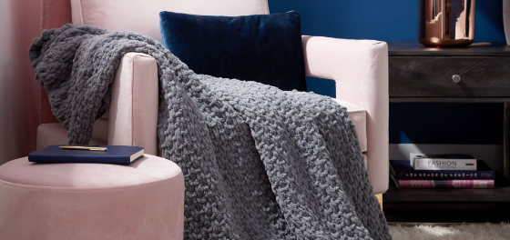 Bernat Alize EZ Seed Stitch Blanket 3