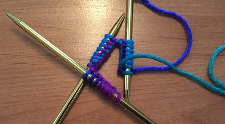 Working with Double Point Needles