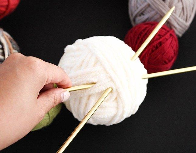 Finished Yarn Balls