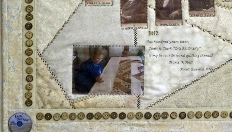 The Quilt Tells the Story