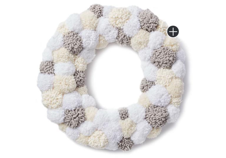 Beginner Pompom Wreath