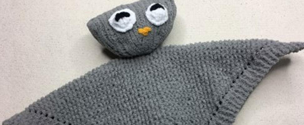 Quick And Easy Owl Knit Lovey Blog Yarnspirations