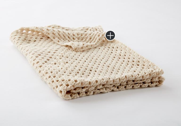 Beginner Classic Granny Square Crochet Blanket