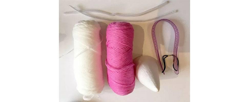Yarn Unicorn Horn Supplies