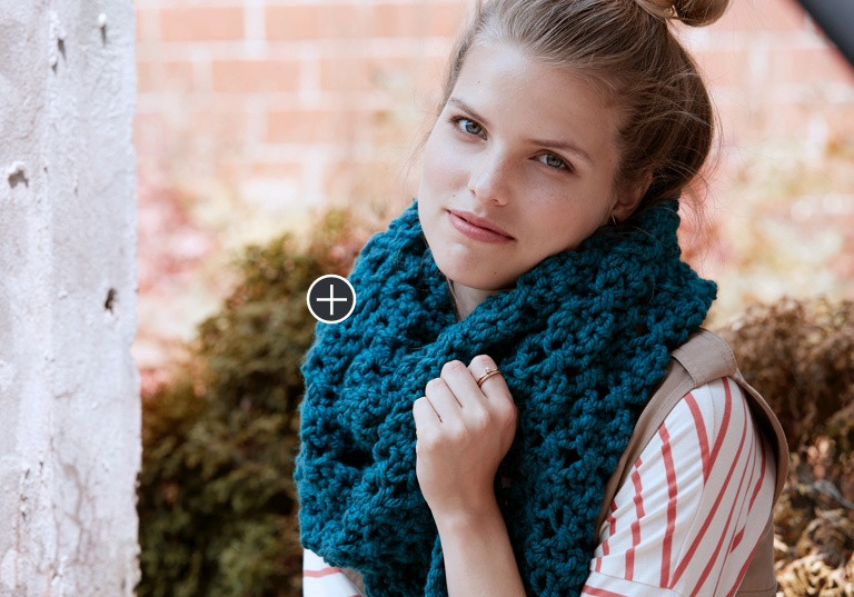 Easy Crossing Paths Crochet Super Scarf