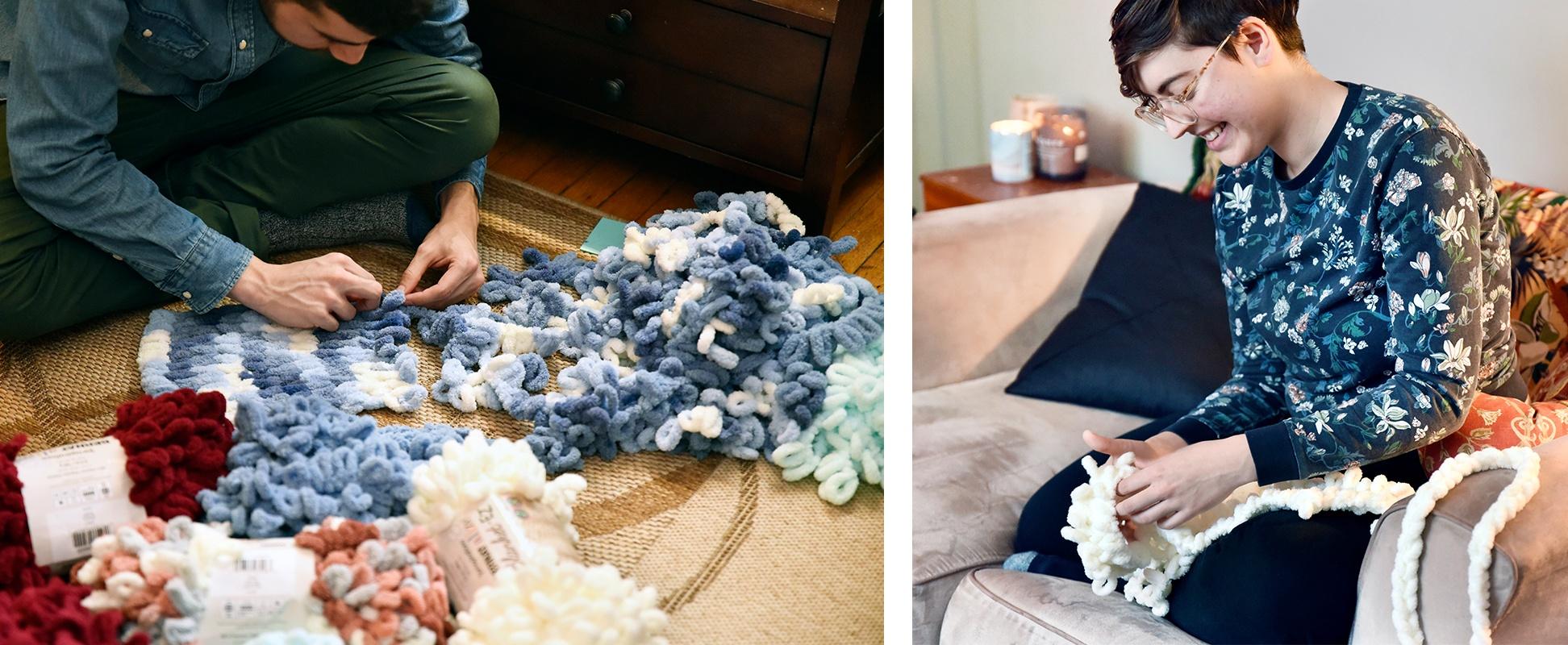 Teach how to EZ-Knitting