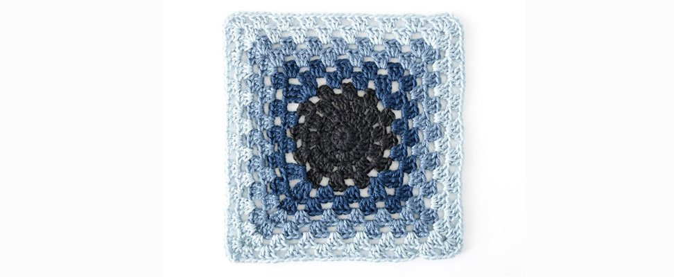 Gradient Effect Granny Square