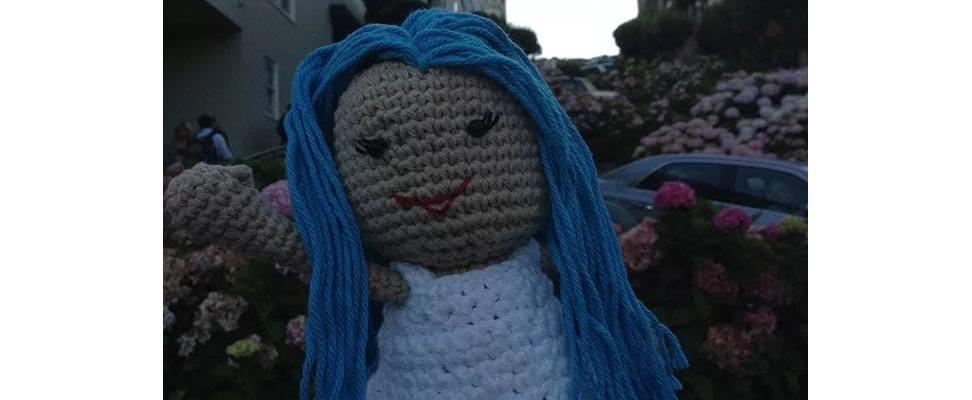 Lily Sugar'n Cream Doll at Lombard Street