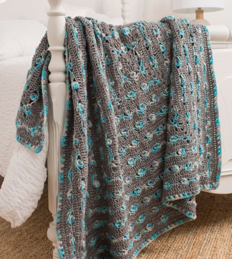 Easy Out-of-the-Box Crochet Throw