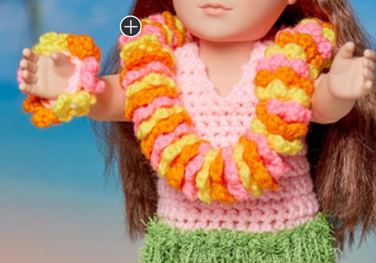 Easy Knit Aloha Hula Doll