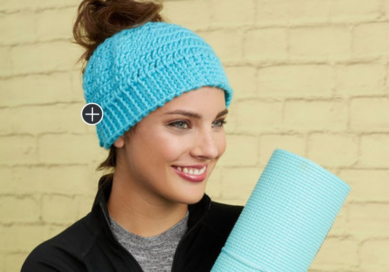 Beginner Chic and Quick Messy Crochet Bun