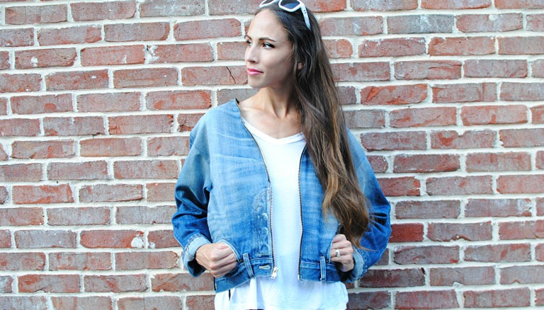 DIY: Jeans into Denim Jacket