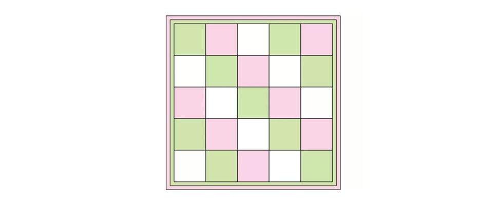 Granny Squares Color Grid 1