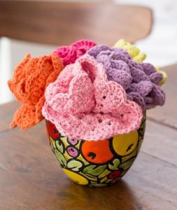 LW4838 Dishcloth Bouquet