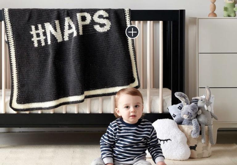 Intermediate #Naps Crochet Blanket