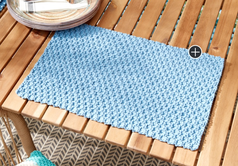 Easy Life Knit Placemats