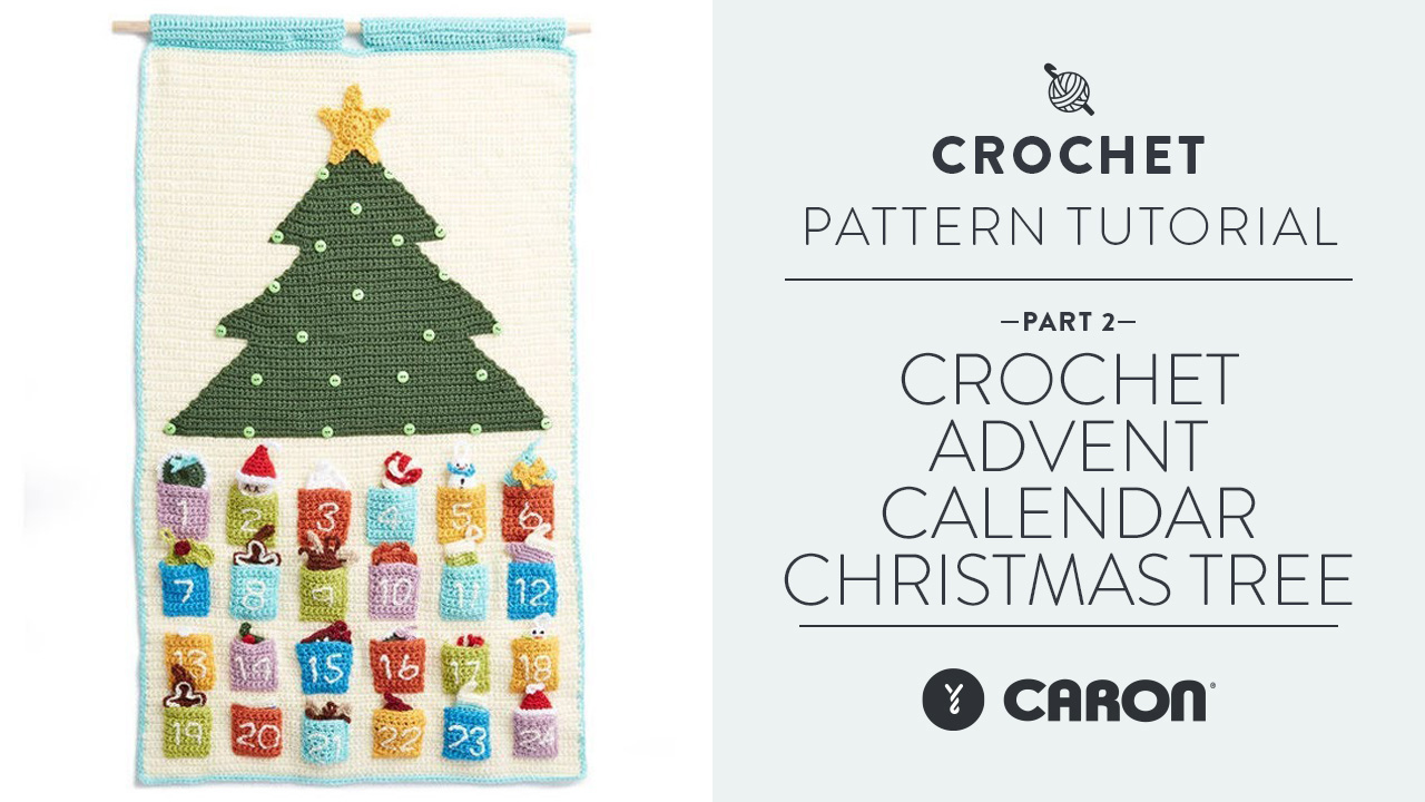 Crochet: Advent Calendar Christmas Tree Step 2