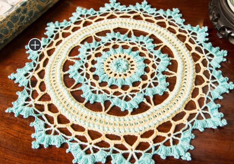 Experienced Crochet Coventry Doily