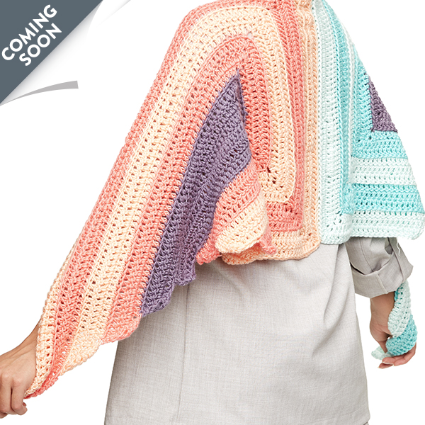 Crochet Spread Your Wings Shawl