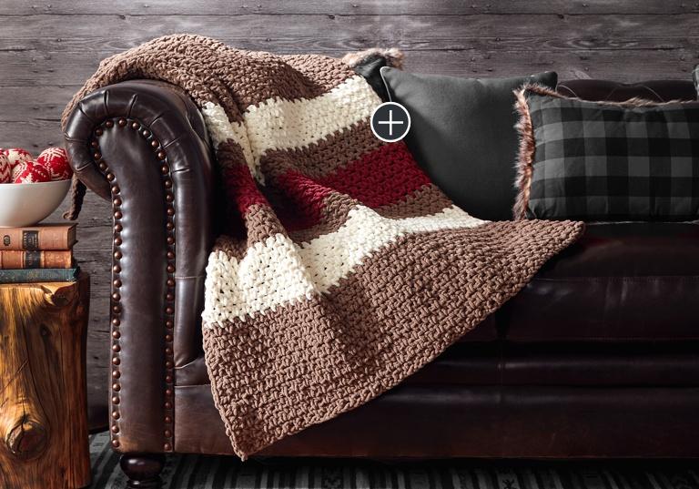 Easy Hibernate Crochet Blanket