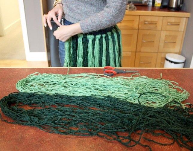 Yarn Hula Skirt