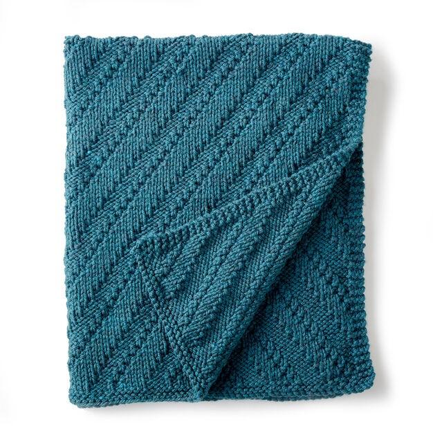 Bernat Reversible Lap Blanket
