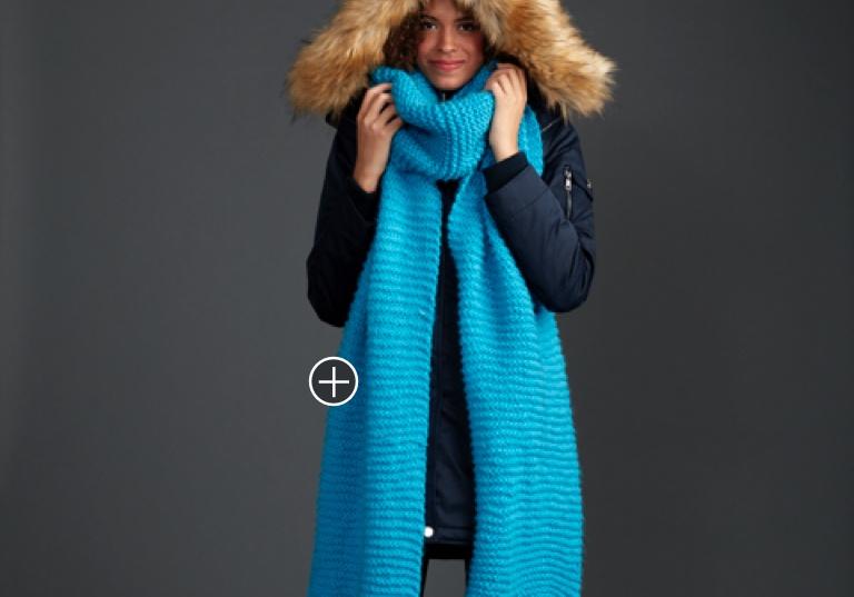 Beginner Keeping It Simple Knit Super Scarf