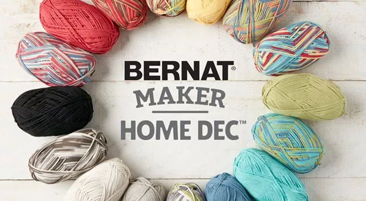 New-In: Bernat Maker Home Dec