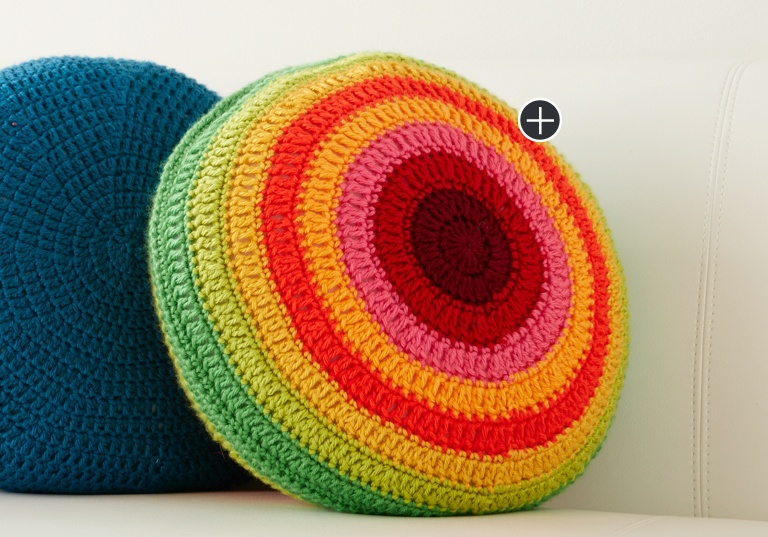 Easy Colorwheel Pillow