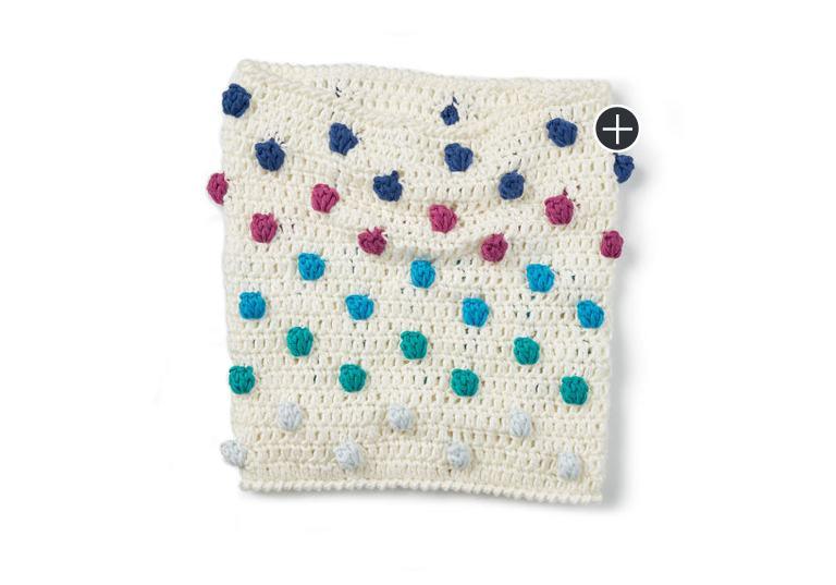 Easy Bobble Pop Crochet Cowl