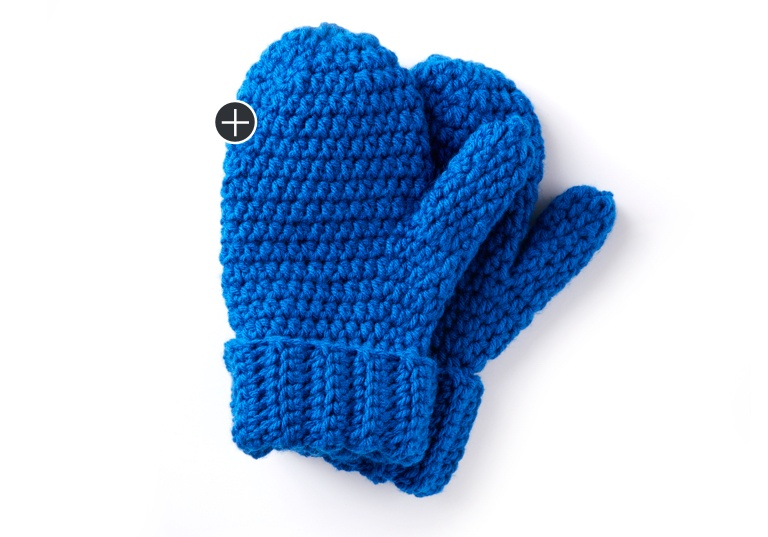 Easy Hands Full Crochet Mittens