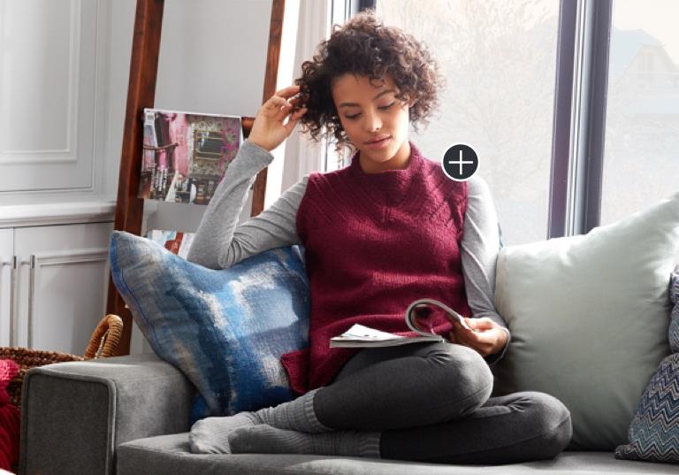 Intermediate Sleeveless Knit Shell