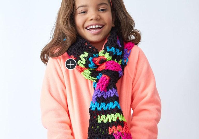Intermediate Crochet Standout Scarf