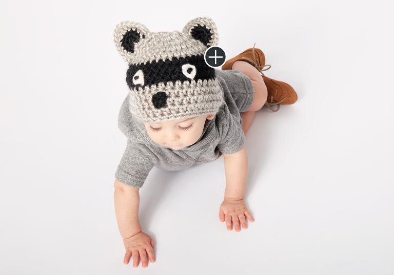 Easy Raccoon Hat