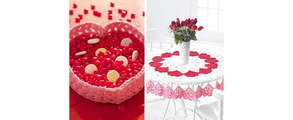 Valentine's Crochet and Knit Projects