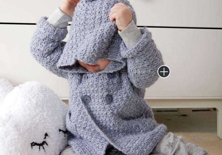 Easy Cozy Crochet Hoodie