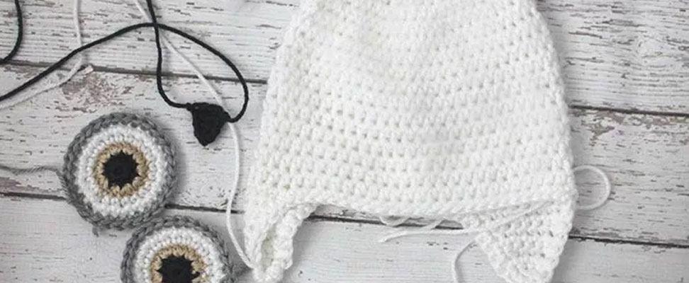 Cute Crochet Snowy Owl Hat Blog Yarnspirations