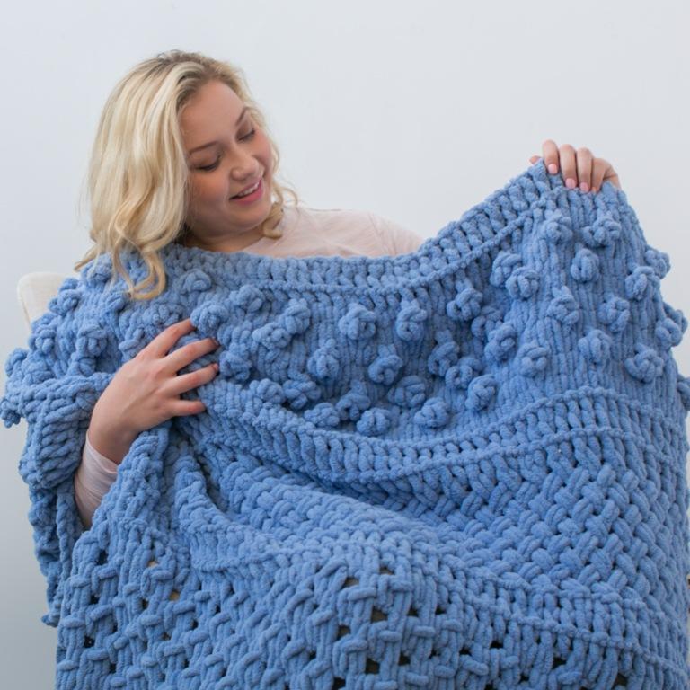 Bernat Blanket-EZ Multi Texture Blanket