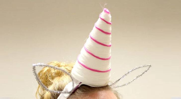 Yarn Unicorn Horn: No Magic Required!