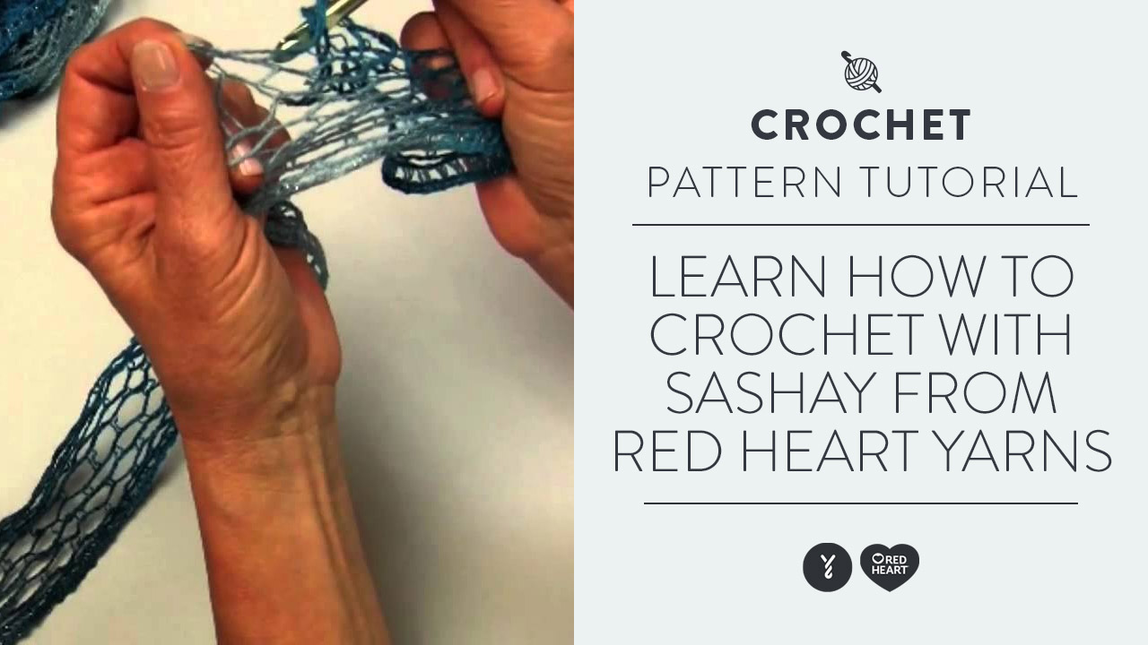 Learn to Crochet with Sashay