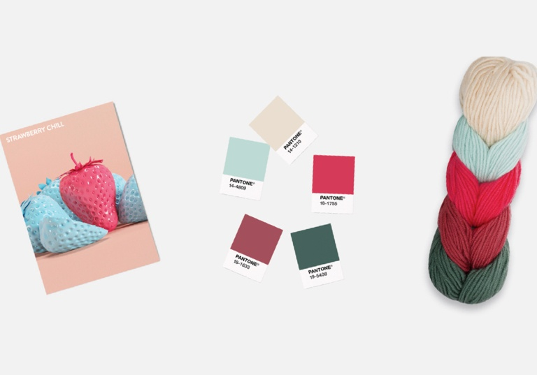 When Caron Met Pantone