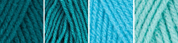 E300 teals for ombre