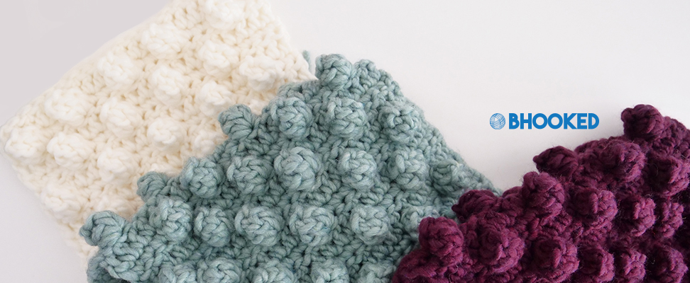 Crochet a Chic Bobble Scarf