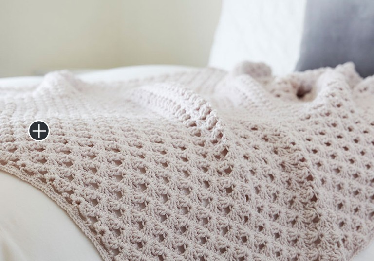 Intermediate Hygge Chic Crochet Throw