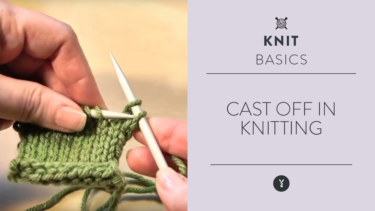 Cast Off in Knitting