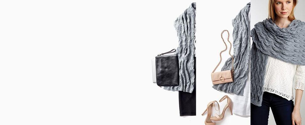 Elegant Lace Shawl