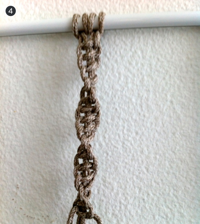 How To Make 6 Common Macrame Knots and Patterns Half Knot