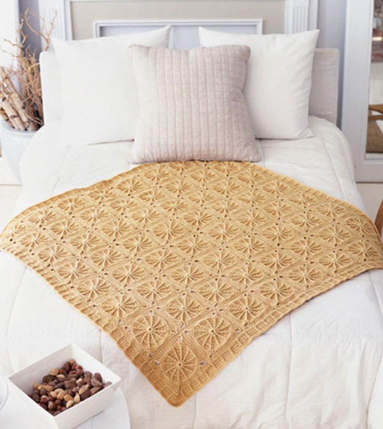 Intermediate Crochet Sunny Spread